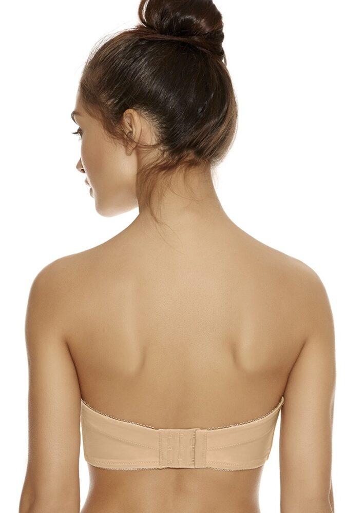 cf39220e0e4b4 Freya Deco Strapless Bra in Nude - Victoria s Little Bra Shop