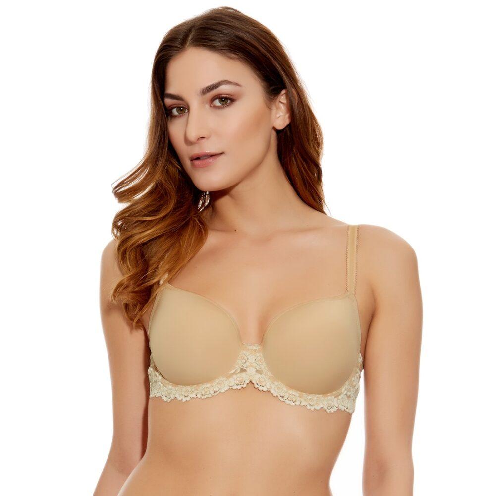 b5f4ed3b8c2e1 Wacoal Embrace Lace Contour Bra in Nude - Victoria s Little Bra Shop