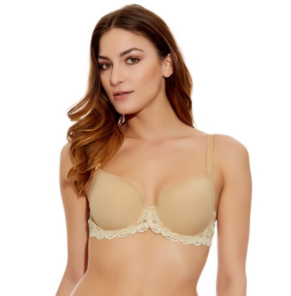 Buy the Wacoal Embrace Lace Contour Bra in Nude