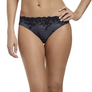buy the Wacoal Embrace Lace Brief in Folkstone Grey