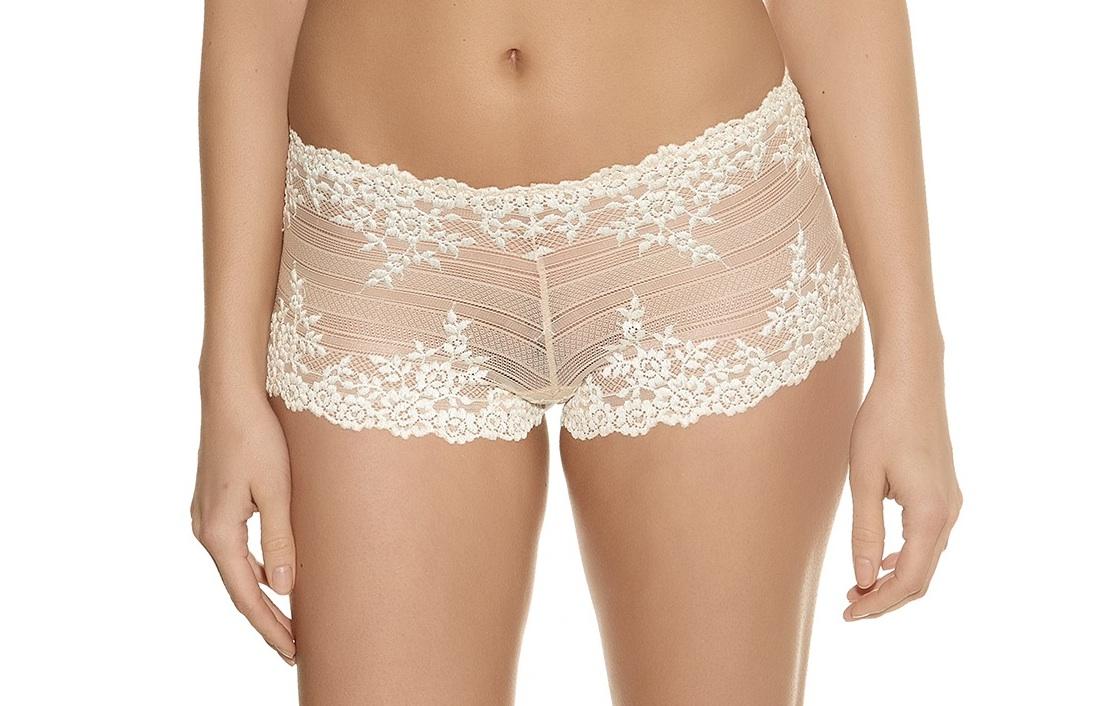 1d9623848d282 Wacoal Embrace Lace Short in Nude - Victoria s Little Bra Shop