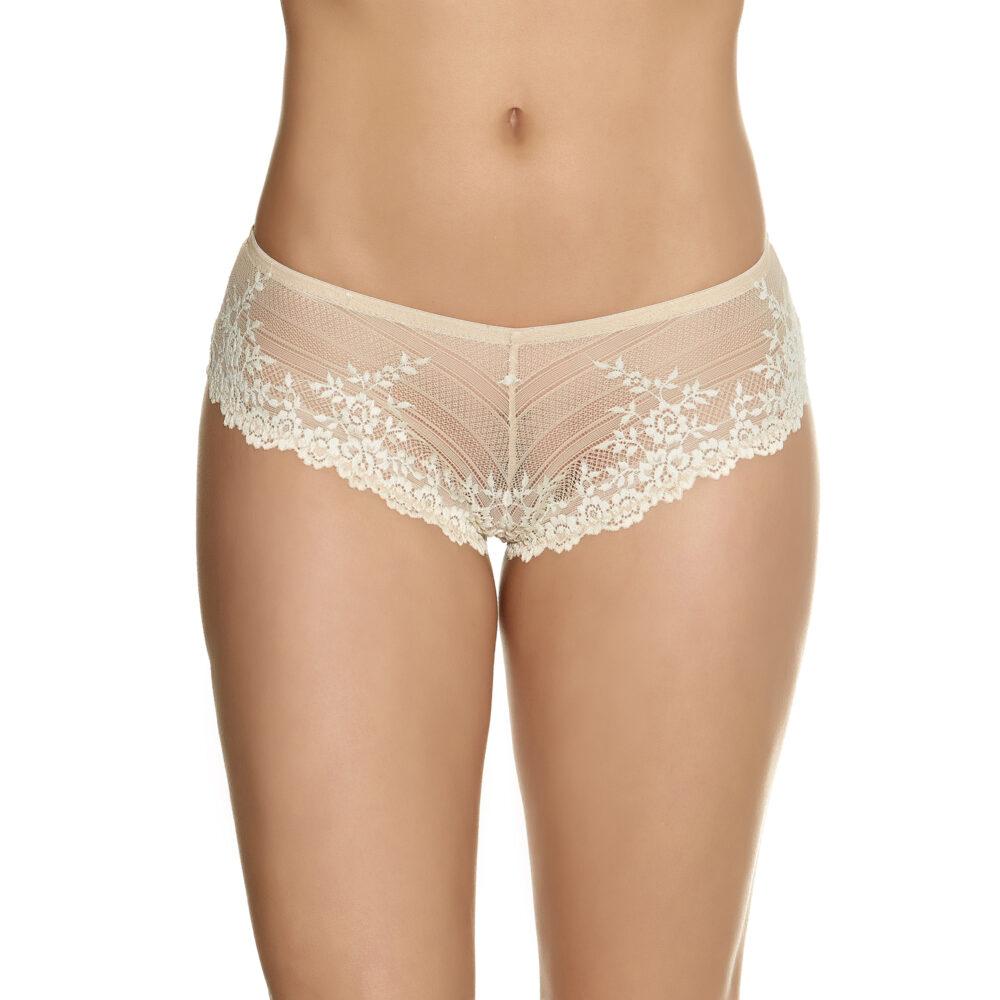 59175bec841a4 Wacoal Embrace Lace Tanga in Nude - Victoria s Little Bra Shop