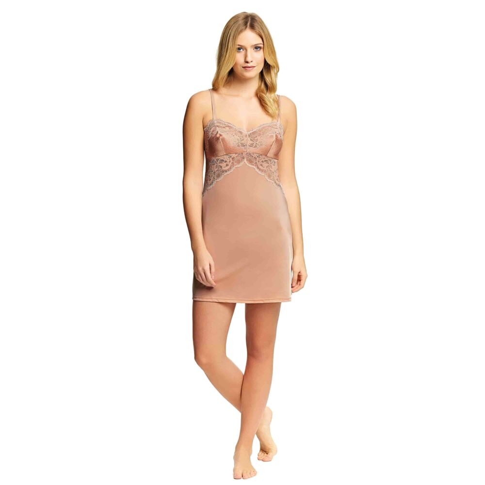 b5d9bd86f Wacoal Lace Affair Chemise in Rose Dust Angel Wing - Victoria s ...