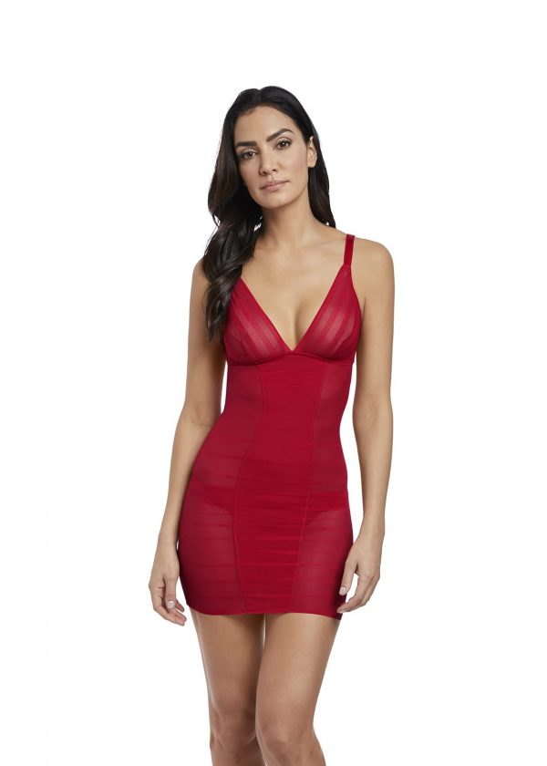 buy the Wacoal Sexy Shaping Dress in Rouge