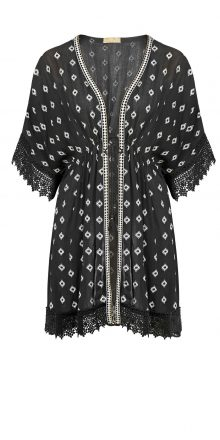 buy the Watercult Ethnocation Kimono in Black/White
