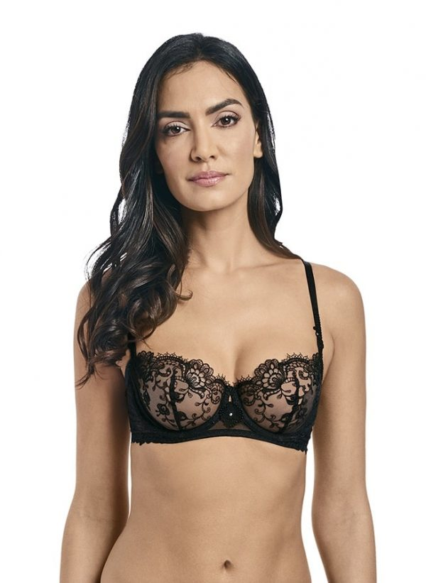 buy the Wacoal Opulence Balcony Bra in Black