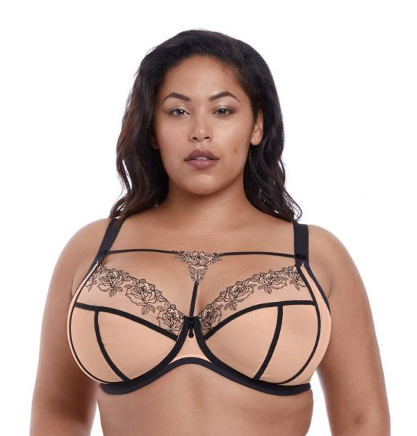 buy the Elomi Tori Plunge Bra in Tattoo
