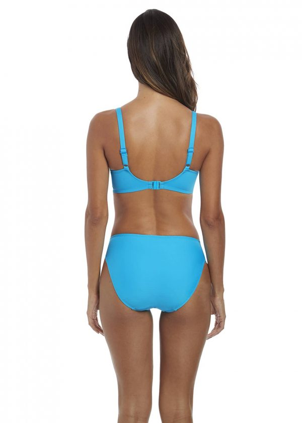 back view of Fantasie Paradise Bay Bikini Set in Aqua