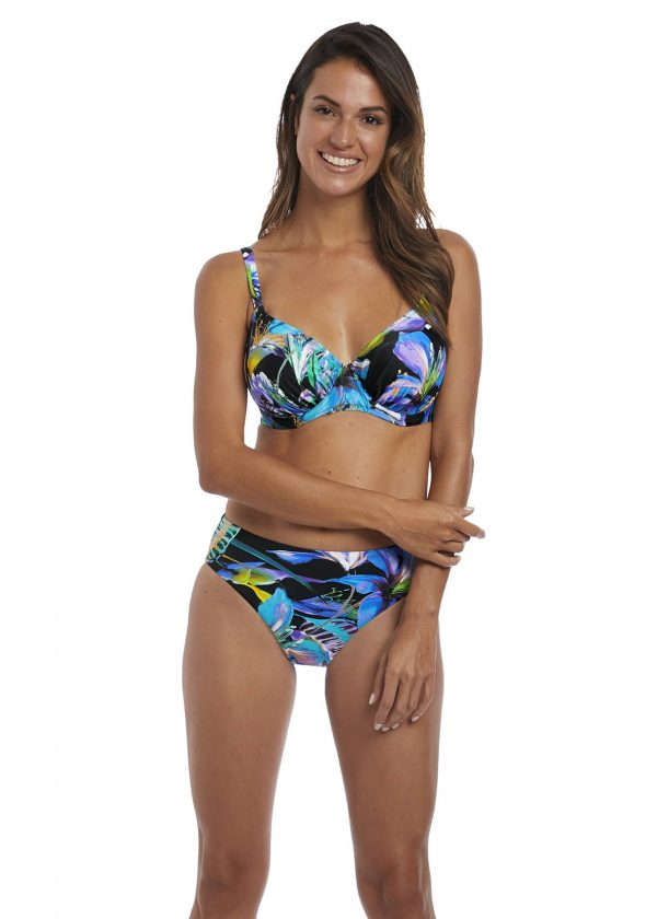 buy the Fantasie Paradise Bay Bikini Set in Aqua Multi