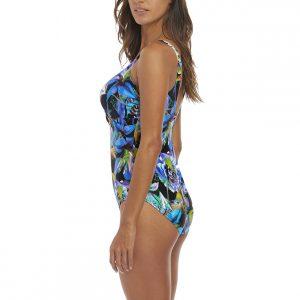 7f76d8b531 Fantasie Paradise Bay Twist Front Swimsuit in Aqua Multi - Victoria s  Little Bra Shop