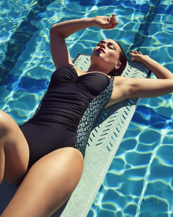 wearing the PrimaDonna Swim Sherry Control Swimsuit in Deep Dive