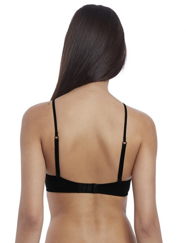 back view of b.tempt'd Insta Ready Bralette in Black