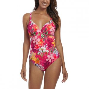 buy the Fantasie Anguilla Deep Plunge Swimsuit in Sunset