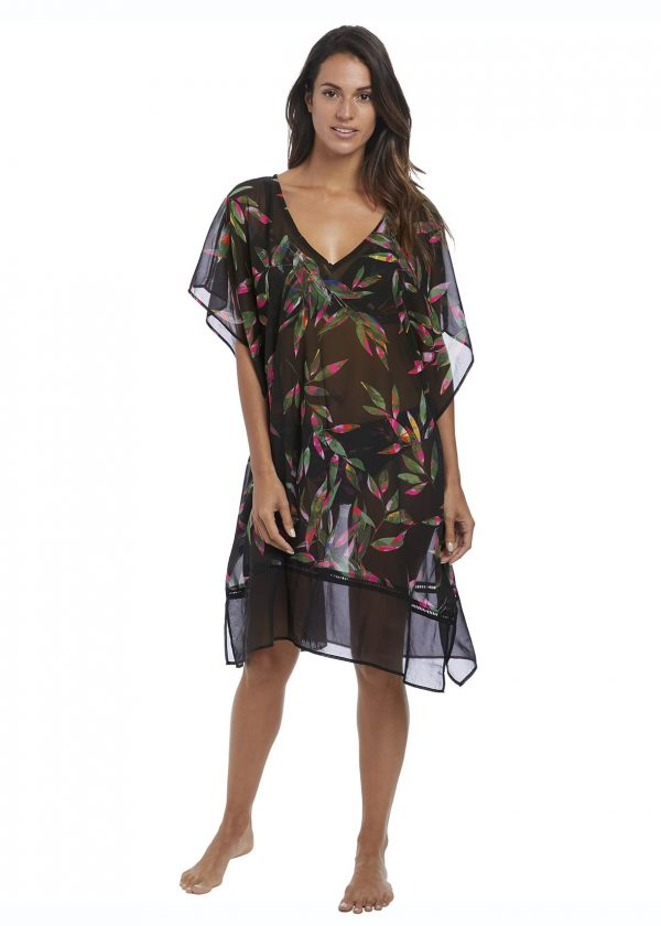buy the Fantasie Palawan Kaftan in Black