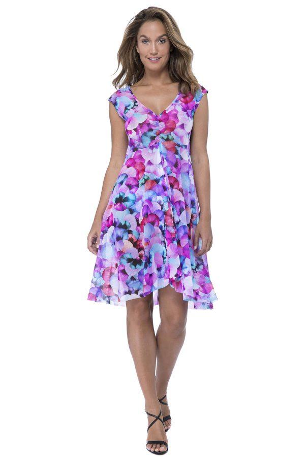 buy the Gottex Profile Pocket Full Of Posies Dress in Multi