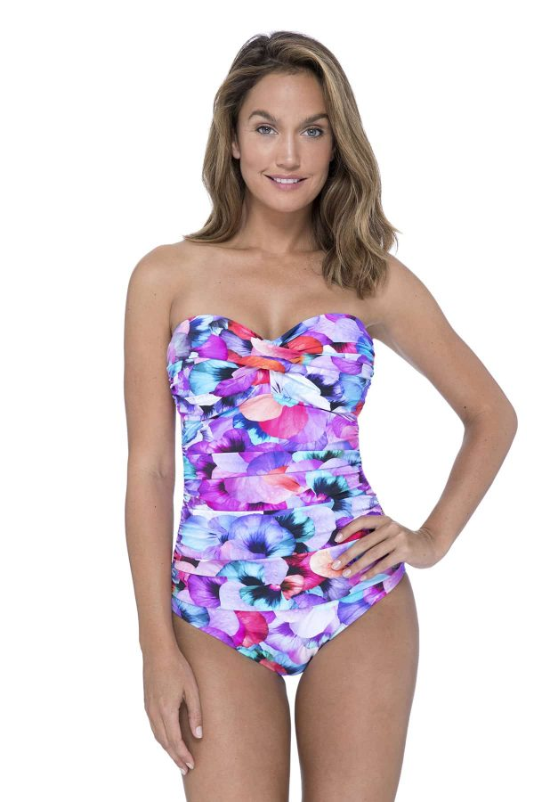 buy the Gottex Profile Pocket Full Of Posies Swimsuit in Multi