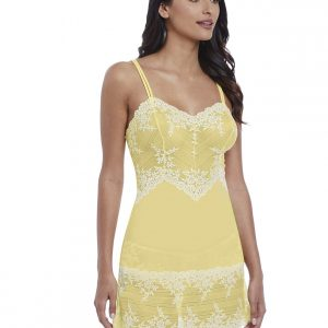 buy the Wacoal Embrace Lace Chemise in Lemon Ivory