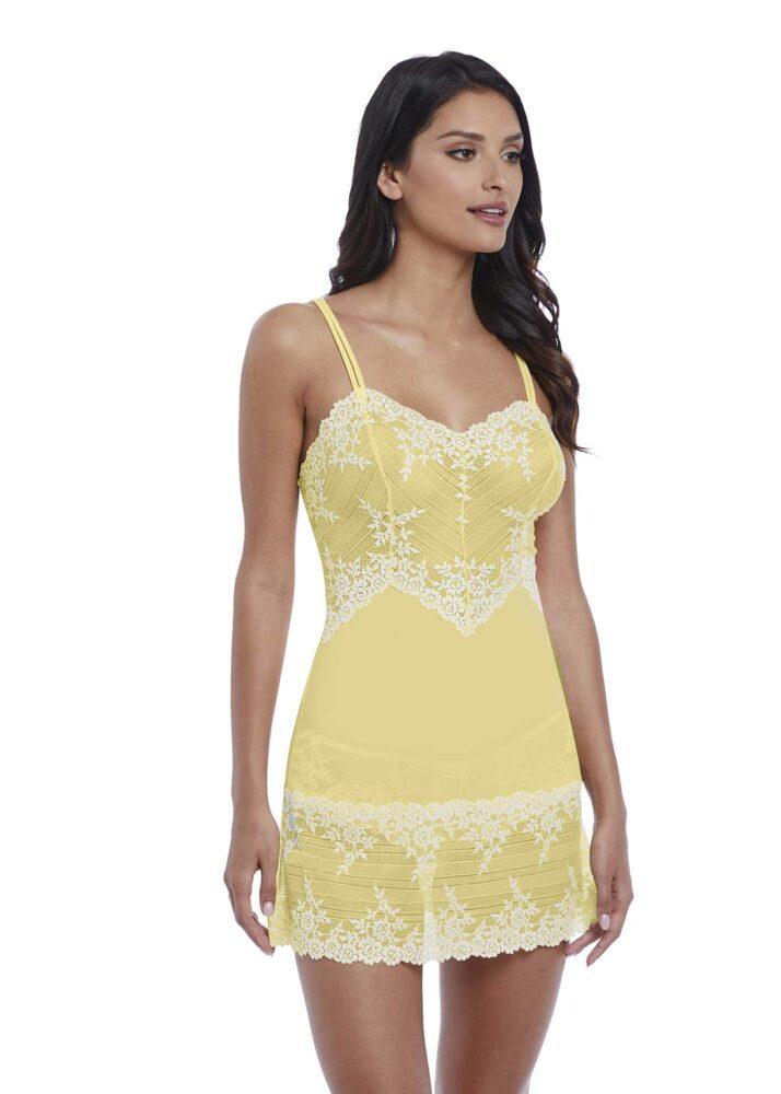 021a5bb59 Wacoal Embrace Lace Chemise in Lemon Ivory - Victoria's Little Bra Shop