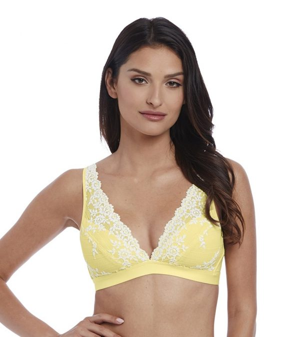 buy the Wacoal Embrace Lace Soft Bra in Lemon Ivory