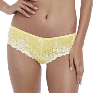 buy the Wacoal Embrace Lace Tanga in Lemon Ivory