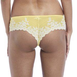 22b7d6aea2 Wacoal Embrace Lace Tanga in Lemon Ivory - Victoria s Little Bra Shop