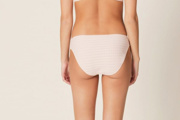 back view of Marie Jo Avero Rio Brief in Pearly Pink