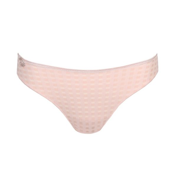 close up of Marie Jo Avero Rio Brief in Pearly Pink