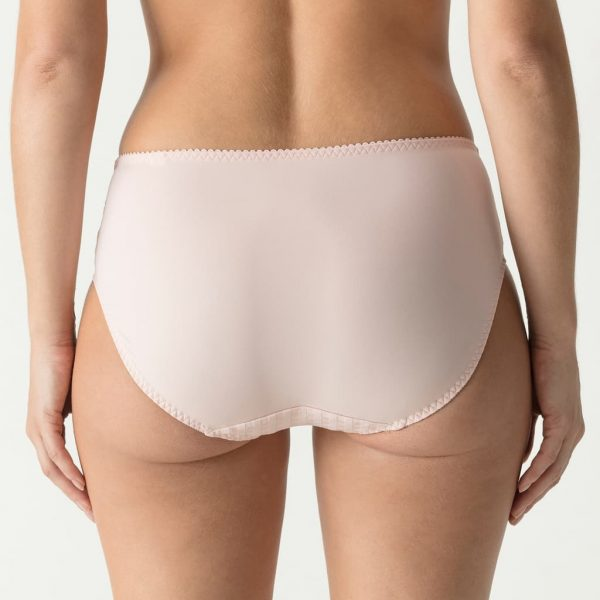 back view of PrimaDonna Madison Full Brief in Pearly Pink
