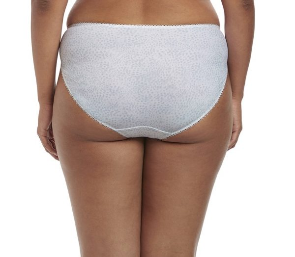 back view of Elomi Morgan Brief in White