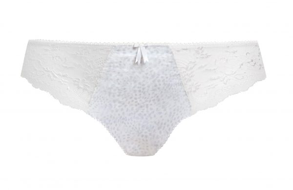 close up of Elomi Morgan Brief in White