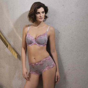 buy the Wacoal Embrace Lace Underwire Bra in Lilac Grey