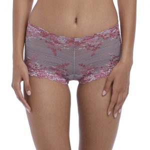 buy the Wacoal Embrace Lace Short in Lilac Grey