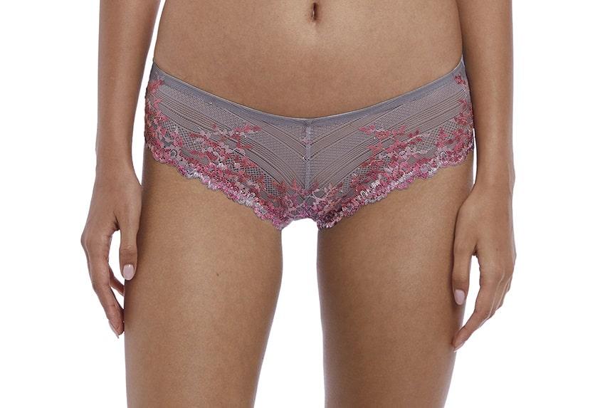 2d0c0caeb1ec Wacoal Embrace Lace Tanga in Lilac Grey - Victoria's Little Bra Shop