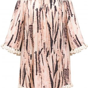 buy the Watercult Batik Beach Dress in Pink Sand