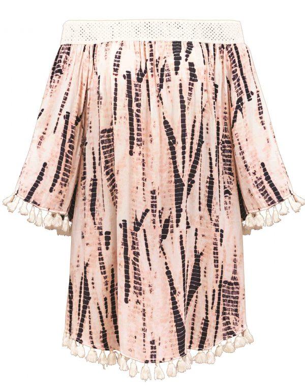 buy the Watercult Batik Beach Dress in Pink Sand