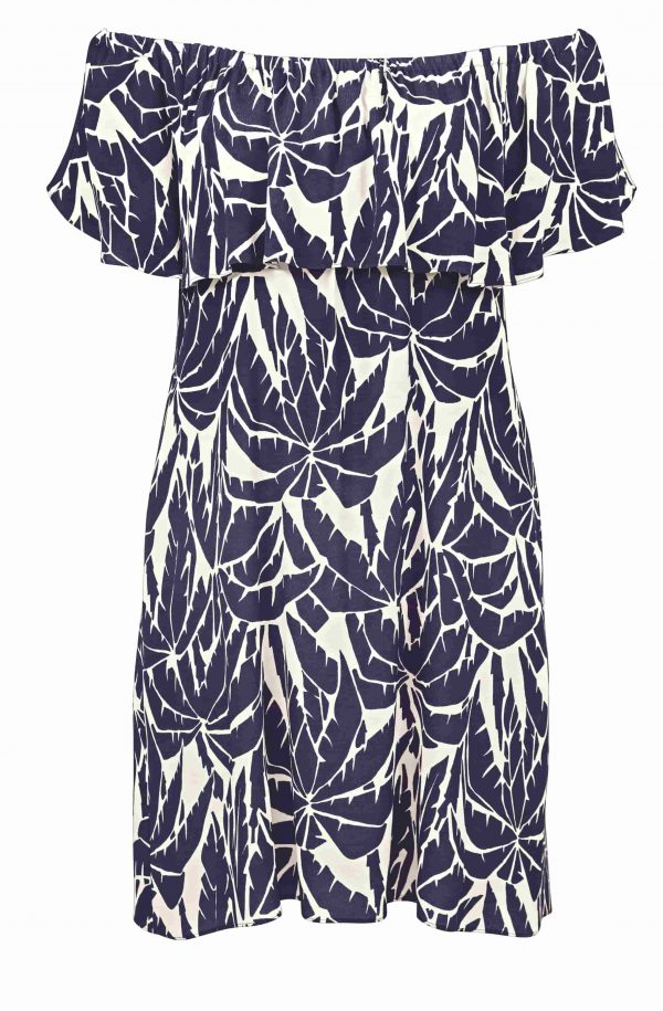 buy the Watercult Club Coco Dress in Indigo Cream