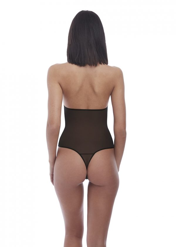 back view of b.tempt'd Ciao Bella Bodysuit in Night