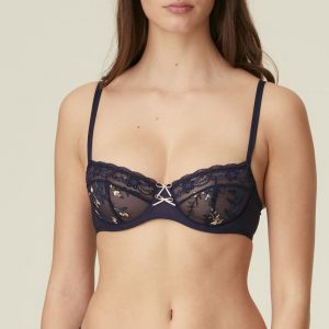 Marie Jo Sakura Balcony Bra in Evening Blue
