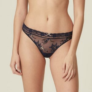 buy the Marie Jo Sakura Thong in Evening Blue
