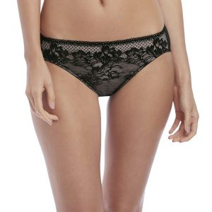 buy the Wacoal Lace to Love Brief in Black