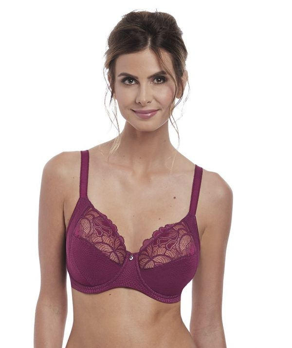 buy the Fantasie Memoir Full Cup Bra in Black Cherry