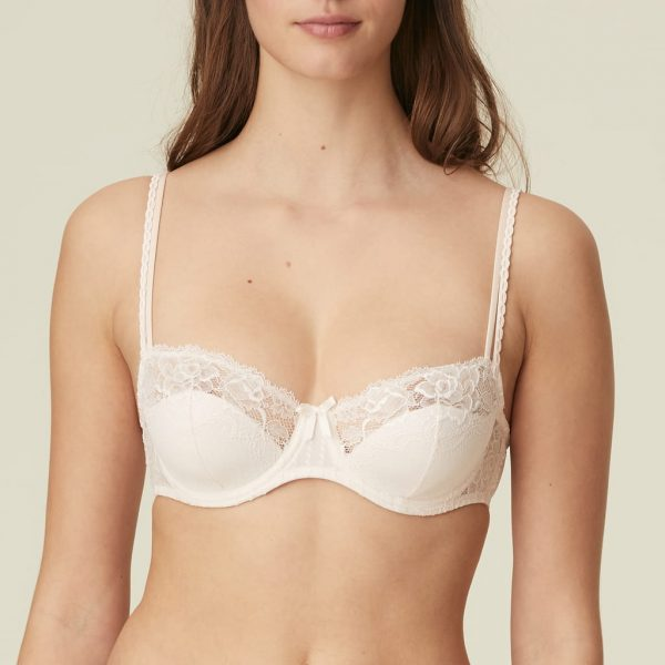 buy the Marie Jo Meryl Balcony Bra in Rose Boudoir