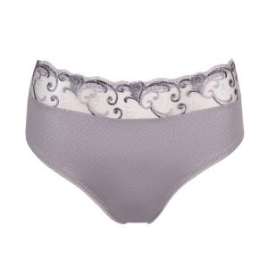 close up of PrimaDonna Candle Night Full Brief in Powder Grey