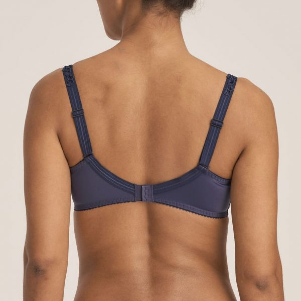 back view of PrimaDonna Deauville Full Cup Bra in Silver Blue