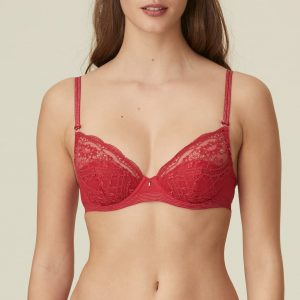 buy the Marie Jo Margot Balcony Bra in Sangria