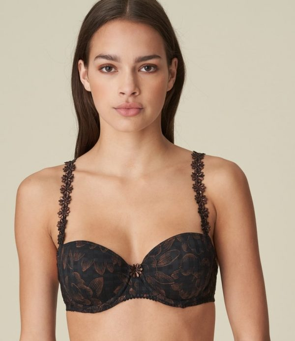 Marie Jo Avero Padded Balcony Bra in Festive