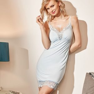 buy the Vanilla Night and Day Chemise 3326 in Blue