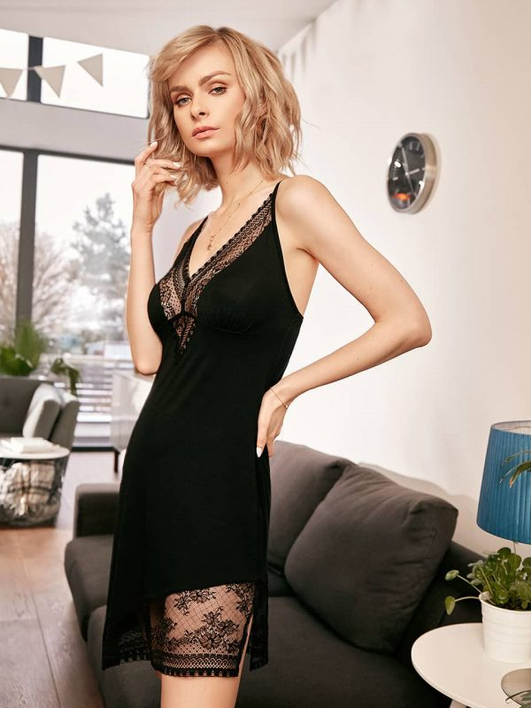 buy the Vanilla Night and Day Chemise 3356 in Black