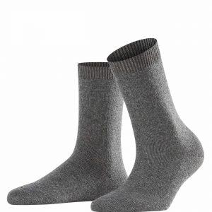 buy the Falke Cosy Wool Socks in Grey Mix