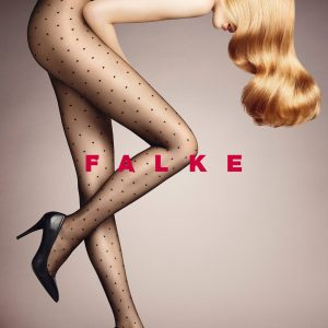 buy the Falke Dot 15 DEN Tights in Black